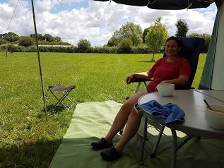 Aire naturelle de camping à la ferme