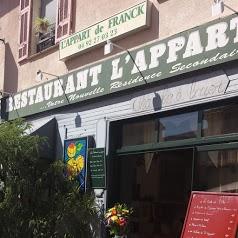 hotel restaurant L'Appart de Franck
