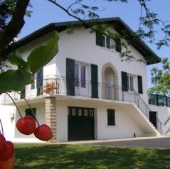 LAU HAITZAK Chambres d'hôtes et Gîte Rez de jardin 3p