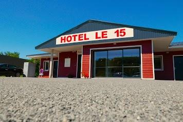 Hôtel le 15 - Périgueux - Coulounieix - Sortie 15 - Autoroute A89