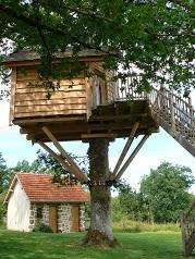 Le Jardin de Beyssin et sa cabane perchée