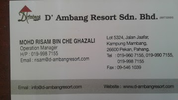 D'ambang Resort