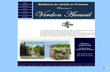 Verdon Accueil