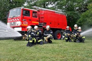 Sapeurs-pompiers C.I.S. Vallée du Lot