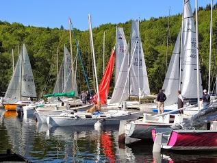 Club Nautique de Vassivière Port Crozat