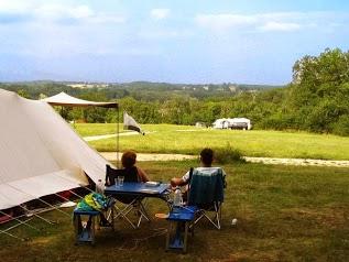 Domaine de Corneuil campsite