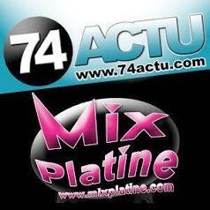 74actu.com et Mixplatine.com
