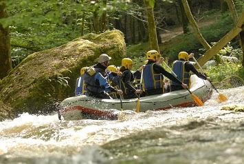 AN RAFTING Morvan : Rafting, eau vive, sports nature et séminaire