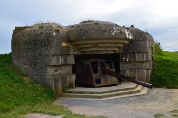 Batterie allemande de Longues sur Mer