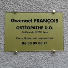 FRANCOIS Gwenaël - Ostéopathe D.O.
