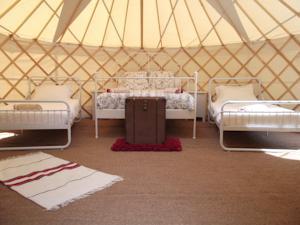The Coachhouse Yurts