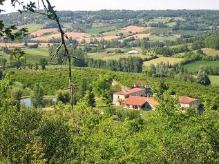 Gîte Lot et Garonne : Domaine de Lamartinie