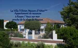 VILLA L' OLIVIER - Maison d' Hôtes